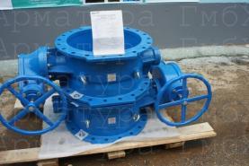 2х эксцентриковые дисковые затворы типа V3-06 Ду600 из ВЧШГ