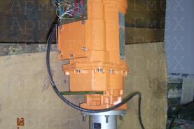 3х эксцентриковый дисковый затвор MIV V3-06-3E Ду200 для пара комплектно со скоростным электроприводом (1 сек)