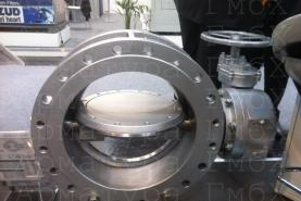 Металлоуплотненный дисковый затвор MIV Ду500 Ру16