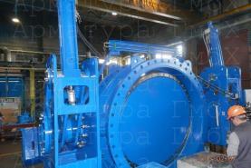 Комбинированный клапан (клапан аварийного закрытия) Ду1800 производства MIV