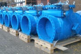 Полнопроходные обратные клапаны типа V2-08 Ду900 для сточных и загрязненных промышленных вод
